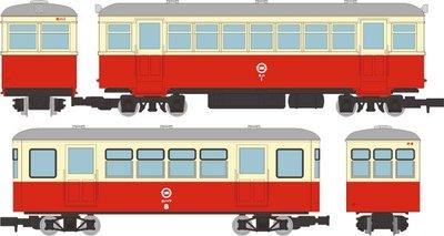 [玩具共和國] TOMYTEC 315513 ナローゲージ80 想い出の尾小屋鉄道 キハ1タイプ+ホハフ8タイプ 2両