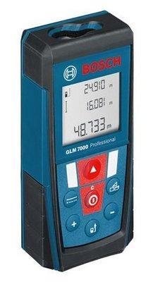德國新款BOSCH雷射測距儀GLM 7000可自動換算台尺.坪數   特價中