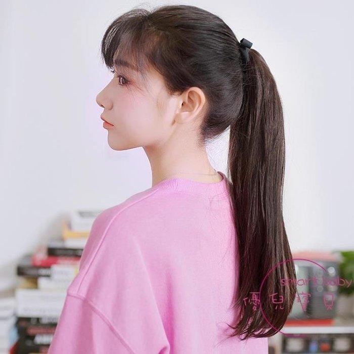 假髮女長髮髮馬尾 綁帶式自然假髮尾中長髮直髮馬尾辮假髮片 一件免運