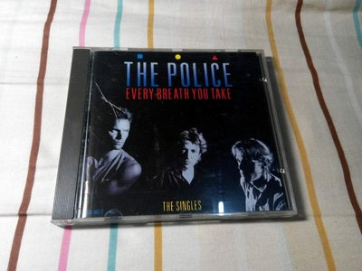 NO221 二手CDThe POLICE警察合唱團THE POLICE Every Breath You Take可面交