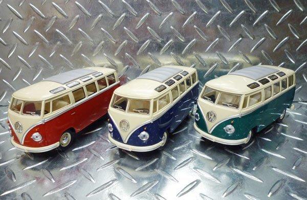 (I LOVE樂多)VW T1 T2 Volkswagen福斯1/24 模型小汽車 收藏裝飾情境擺飾