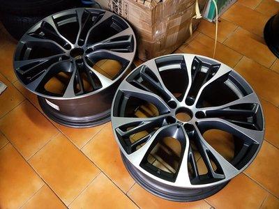 BMW F15 F16 X5M X6M 原廠599M 21吋鋁圈.X5 X6 X5M X6M..只有2顆 前面