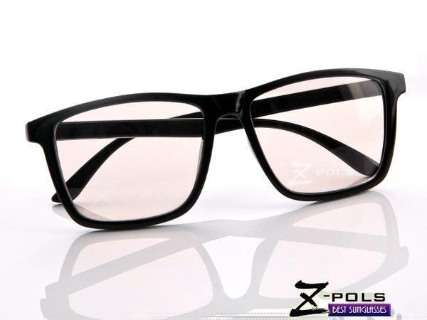 抗藍光最佳利器!文青Style大框設計 MIT視鼎Z-POLS 專業PC材質抗藍光眼鏡