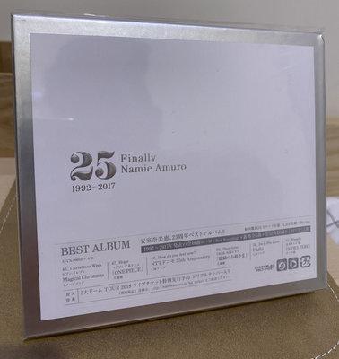 全新未拆 安室奈美惠 finally 3CD+Blu-ray 日版 namie amuro