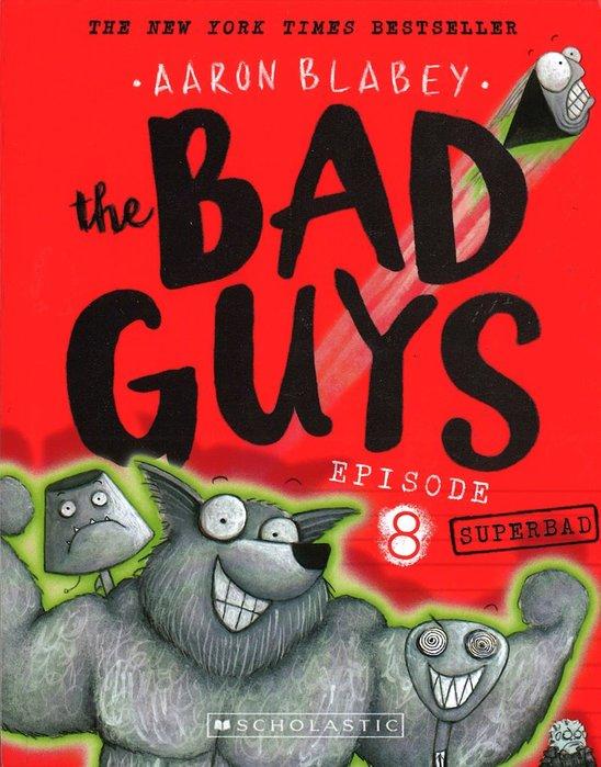 *小貝比的家*BAD GUYS #08:SUPERBAD/平裝/7~12歲