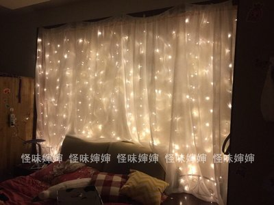 怪味嬸嬸 星空迷你夢幻燈串 房間裝飾 自拍道具串燈10米XBD