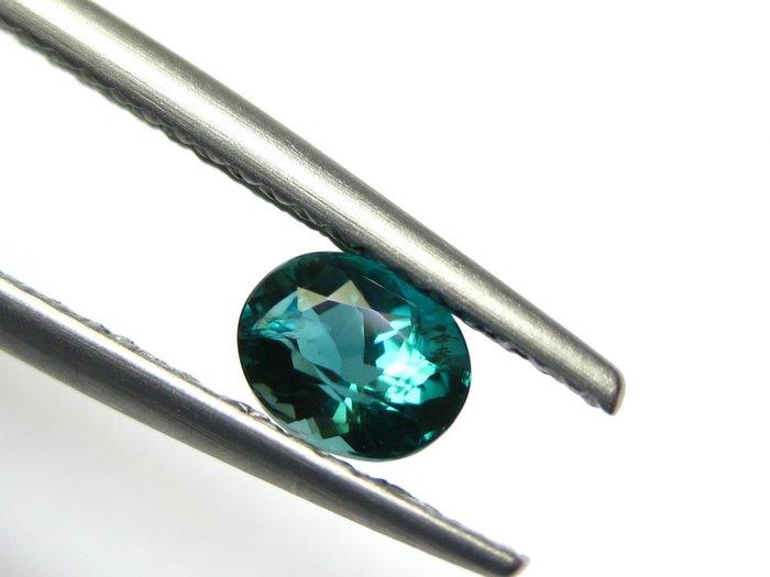 【Texture & Nobleness 低調與奢華】天然無處理 硅硼鎂鋁石(Grandidierite) 0.45克拉