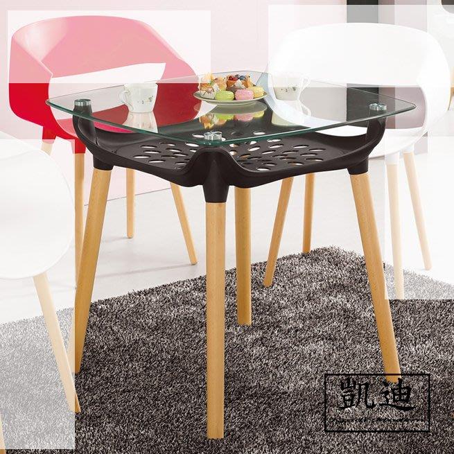 【凱迪家具】M4-1000-2瓦沙休閒桌(黑)/桃園以北市區滿五千元免運費/可刷卡