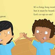 讓我們合作吧 英文 Let's Cooperate 書+CD 音樂繪本 3-8歲