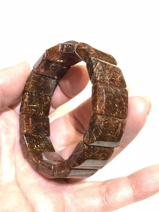 ((上品堂))頂級天然紅銅鈦手排,重達 72g 招財的最佳利器