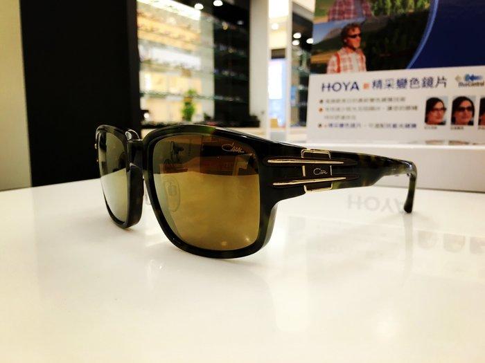 CAZAL 德國設計品牌 反光鏡片大方框太陽眼鏡 不一樣的獨特 精密的工藝搭配無二的創作