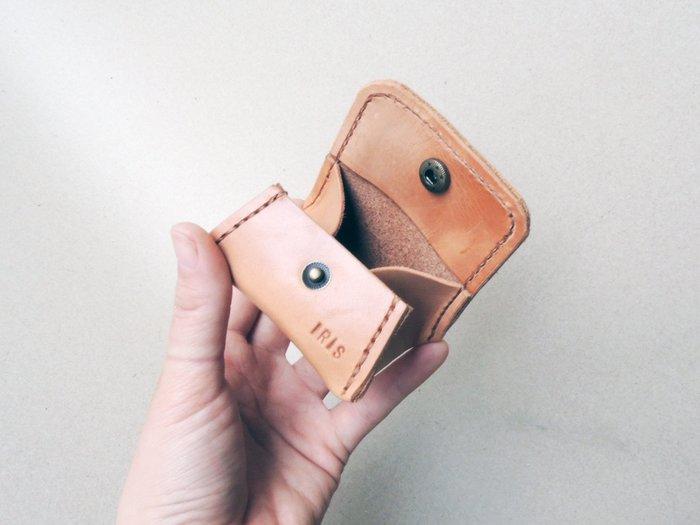 現貨 客製化零錢包 真皮零錢包 大容量 豆腐零錢包 嗅皮手作