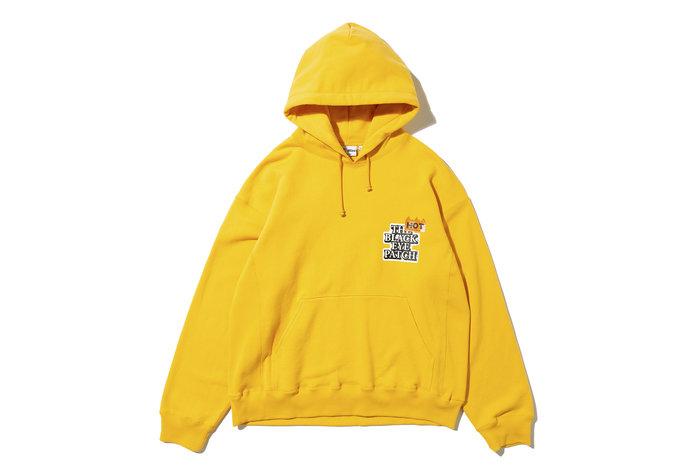"[ LAB Taipei ] BlackEyePatch "" HOT LABEL HOODIE "" (Yellow)"