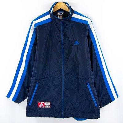 【品牌競區】全新品 Adidas 泰國製 / Logo / 防潑水 / 立領外套 / XL號 ~ COC18
