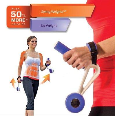 跑步健身器 跑步搖擺啞鈴 慢跑甩手啞鈴 1.8G SWING WEIGHTS【手搖式搖擺啞鈴】-NFO