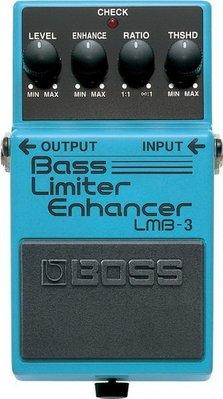 ☆ 唐尼樂器︵☆ BOSS LMB-3 Bass Limiter Enhancer 貝斯 限幅 效果器 LMB-3