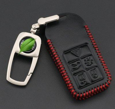 【免運】--AP Volvo S60 XC60 V40 XC70 XC90 S80 V60 POLESTAR 汽車真皮鑰匙包鑰匙套鑰