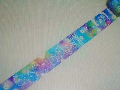 紙膠帶 台灣原創 Ours聯名設計 鄧小熊的隨手筆記 雨滴熊 分裝100cm