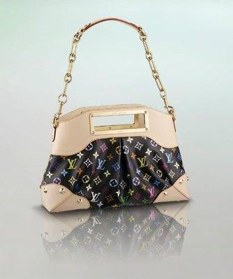 *旺角名店* LV M40256 ㊣ 黑彩 金鍊 側背包 手提包 晚宴包 JUDY MM