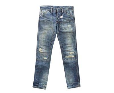【希望商店】⸨✔寄賣商品⸩ PLEDGE 窄版 破壞牛仔褲