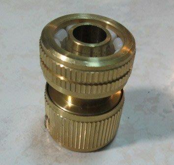 *艸衫居* 台灣 銅製 4分水管快速接頭 水管接頭 水管轉接頭 快速接頭 轉接頭 水管轉接