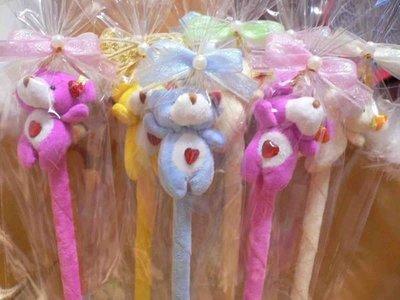需自行包裝~40多款動物玩偶絨毛筆含蝴蝶結包裝~另有花朵結婚禮小物二次進場送客禮贈品生日分享禮品情人節來店禮滿額禮