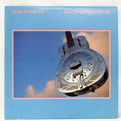 西洋搖滾 黑膠 Dire Straits【Brother in Arms】1985 美國首版
