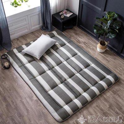 床墊0.9米單人雙人褥子墊被學生宿舍海綿榻榻米床褥LX
