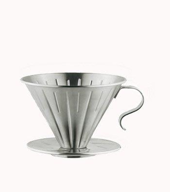 ~* 品味人生*~ 贈咖啡量匙 寶馬1~2杯 錐形不鏽鋼咖啡濾器 ta-s-01-st