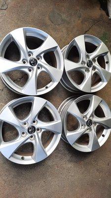 豐田汽車 Toyota Chr  17吋原廠鋁圈加輪胎 215 55 17五孔114 Rav4 camry Innova