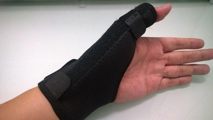 可調式彈簧強化型人體工學纏繞型繞指護腕帶拇指扭傷媽媽手腕