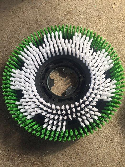 聚吉小屋 #BF521/BF523多功能刷地機地刷154轉速洗地機配件17寸刷盤綠刷