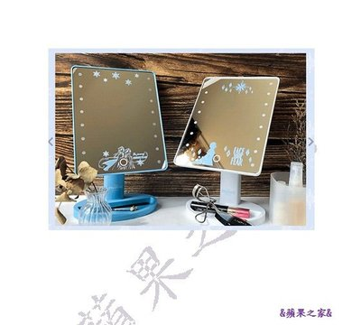 &蘋果之&現貨-7-11 FROZEN II LED燈化妝鏡