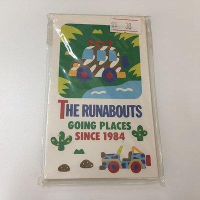 日本製 SANRIO THE RUNABOUTS 小信封 1套8個連8個貼紙 1996 生產 #3