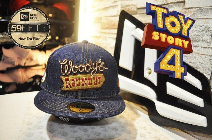 2019 New Era Japan x Toy Story Woody 59Fifty 玩具總動員日本線伍迪全封尺寸帽