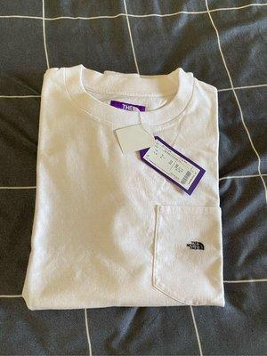The north face 日本限定紫標 短袖 XL號 100% 2000 日本製