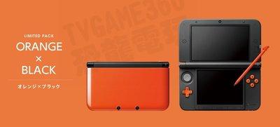 【二手主機】任天堂 NINTENDO NEW 3DSXL NEW3DSXL 主機 歐規機 歐版 橘黑色 附贈充電器 裸裝