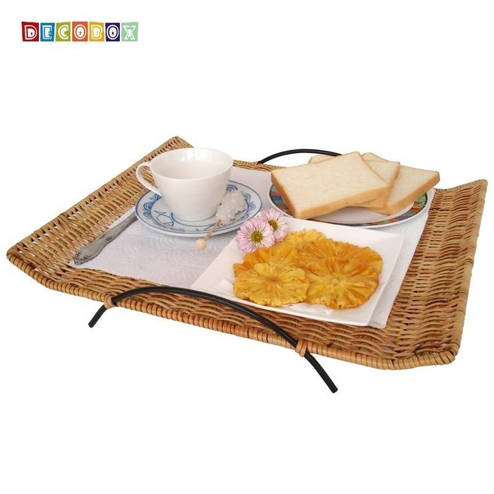 DecoBox鄉村風點心小托盤(菓盤.收納盤.水果盤.麵包盤.置物盤)