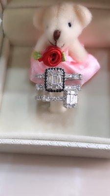 伊莎貝拉輕珠寶系列-時尚設計款、18k金天然鑽石戒指