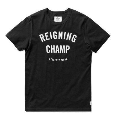 GYM LOGO T-SHIRT RC1056 黑【GT Company】【Reigning Champ】