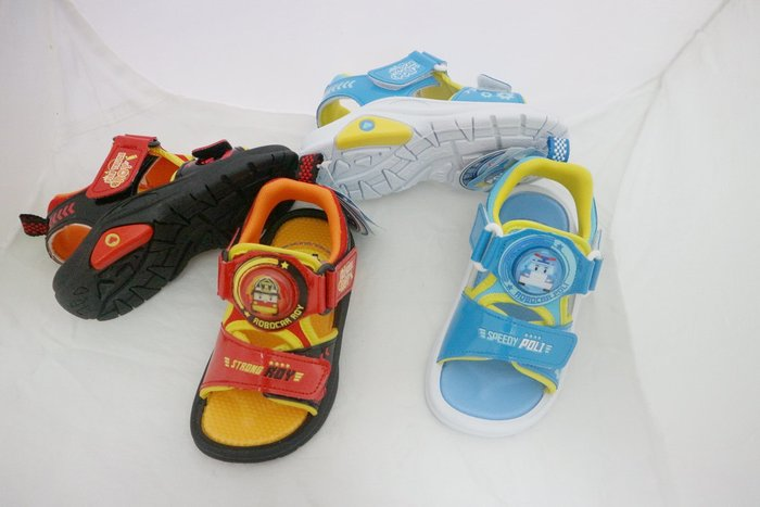 ㊣品救援小英雄 POLI波力 羅伊91126/2 電燈運動涼鞋 舒適 台灣製 低價490 先提問 15~19號