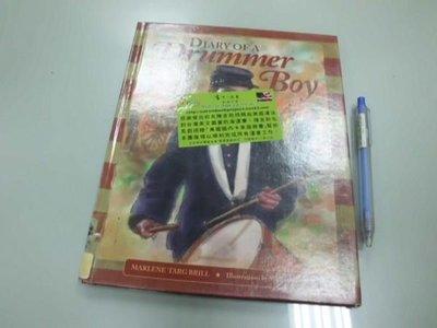 6980銤:A15-4☆1998年『DIARY OF A DRUMMER BOY』原文 英文童書繪本