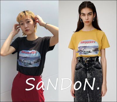 SaNDoN x 秋季新品 短袖MOUSSY IN THE DUCK  SLY 韓妮 GUA 191019