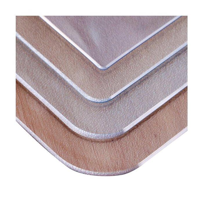 桌布現代簡約風格 棉麻 日系PVC桌布防水防燙防油免洗餐桌墊隔熱墊耐熱長方形透明軟塑料玻璃