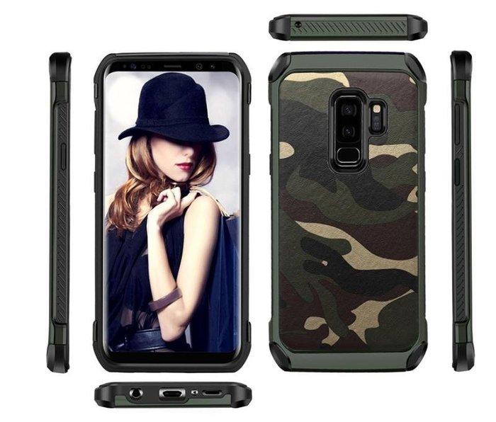 迷彩 Samsung 三星NOTE9手機殼A6Plus全包邊軟矽膠防摔套2018A6保護外