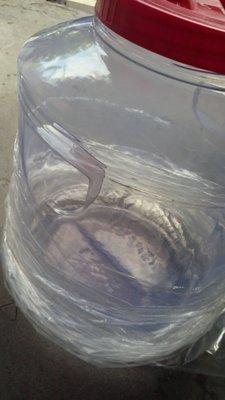 PVC塑膠罐 10公升(10000c.c) /透明筒/收納罐/收納桶/零食罐/塑膠桶_粗俗俗五金大賣場