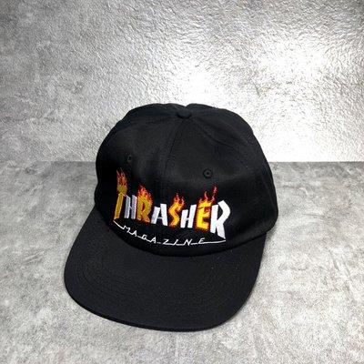 【Faithful】THRASHER Flame Mag Snapback 【144575】棒球帽 黑