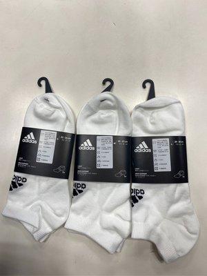 ADIDAS LIGHT NOSH 1PP   短襪 薄款運動襪 裸襪 白色 DZ9422