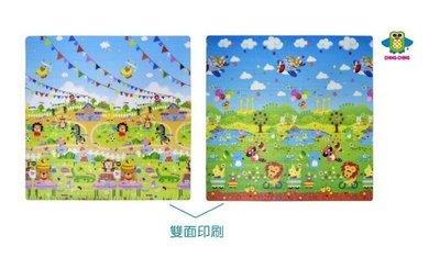 貝比的家-親親-動物氣球寶貝運動會巧併-遊戲墊-地墊-安全墊-爬行毯-雙面(WT201-604)