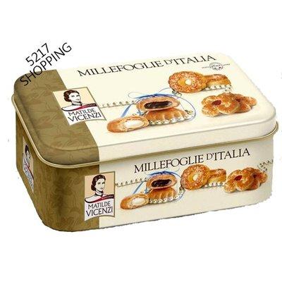 Vicenzi 維西尼義大利 夾心酥禮盒 (鐵盒) 5217SHOPPING